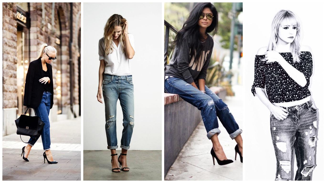 tendance mode 71 id es pour bien porter le jean boyfriend pour femme tendance 2017. Black Bedroom Furniture Sets. Home Design Ideas