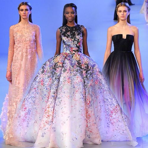 Le défilé Elie Saab printemps-été 2014 : Fashion week Paris