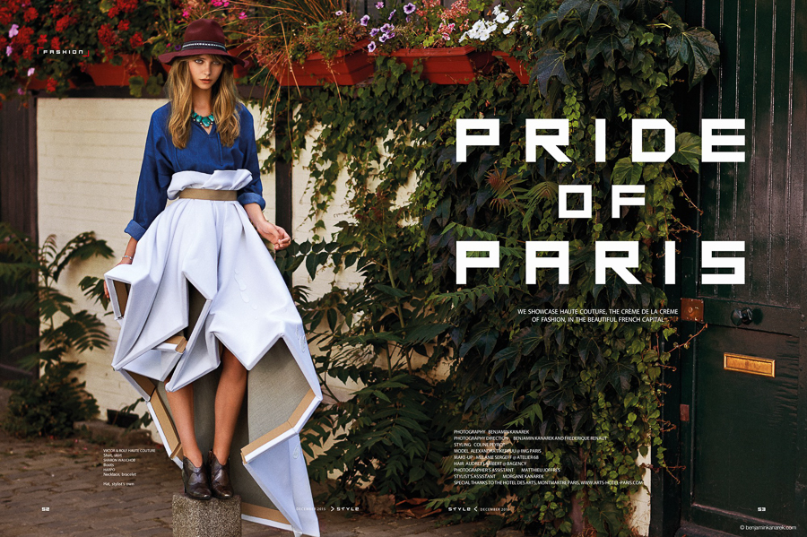 Alexandra Tikerpuu in Pride of Paris by Benjamin Kanarek