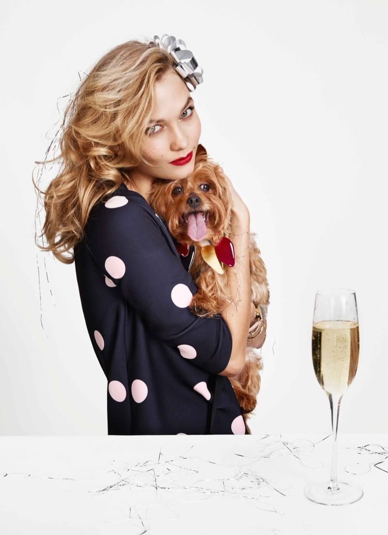 Karlie Kloss for Kate Spade Holiday 2015 5