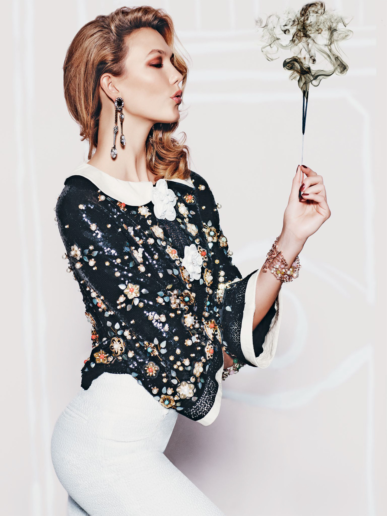 Karlie Kloss for Vogue Mexico december 2015 - 6