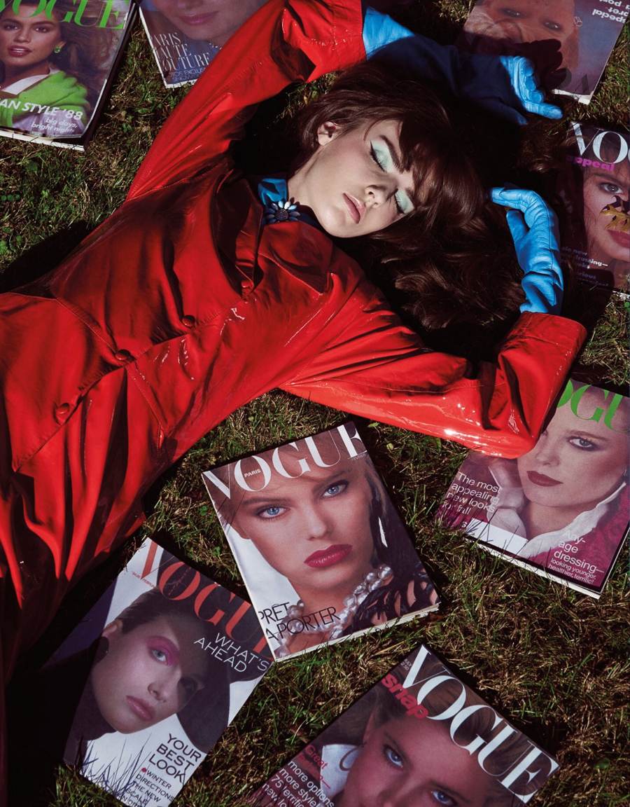 Vogue Taiwan January 2016 – Yulia Erkamova by Jamie Nelson