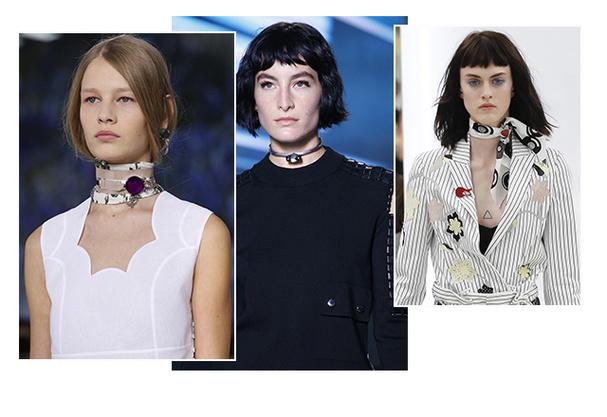 tendance mode 2016 femme - Quelque chose autour du cou