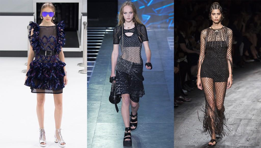 De gauche à droite : Chanel, Louis Vuitton et Valentino