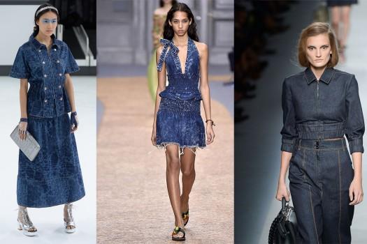 tendance mode 2016 femme - la matière jean