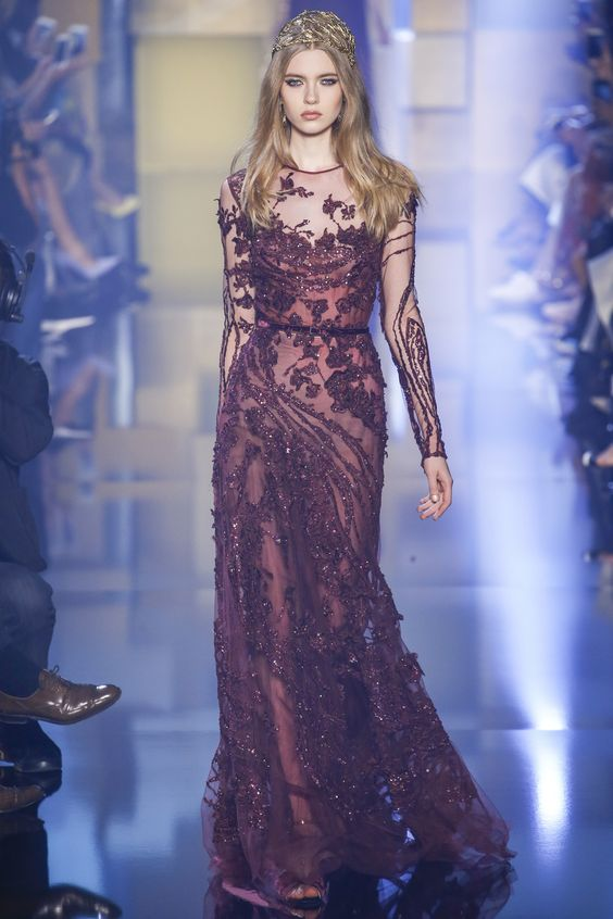 Modele de robe de soiree haute couture