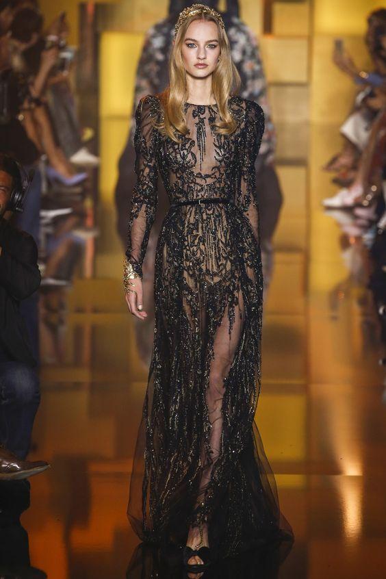 Elie Saab Fall-Winter 2015-2016 Fashion Show