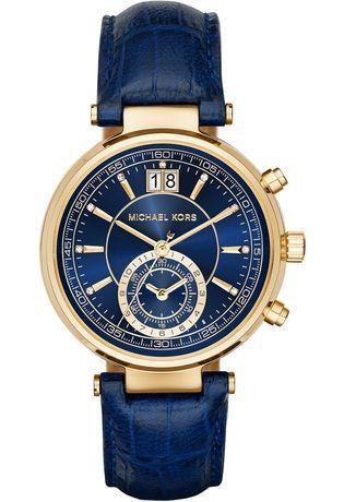 Michael Kors Collection 2016 MONTRE SAWYER BLUE MK2425