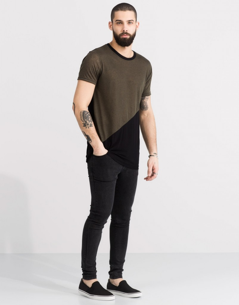 T-SHIRT COUPE DIAGONALE RÉF. 5239580