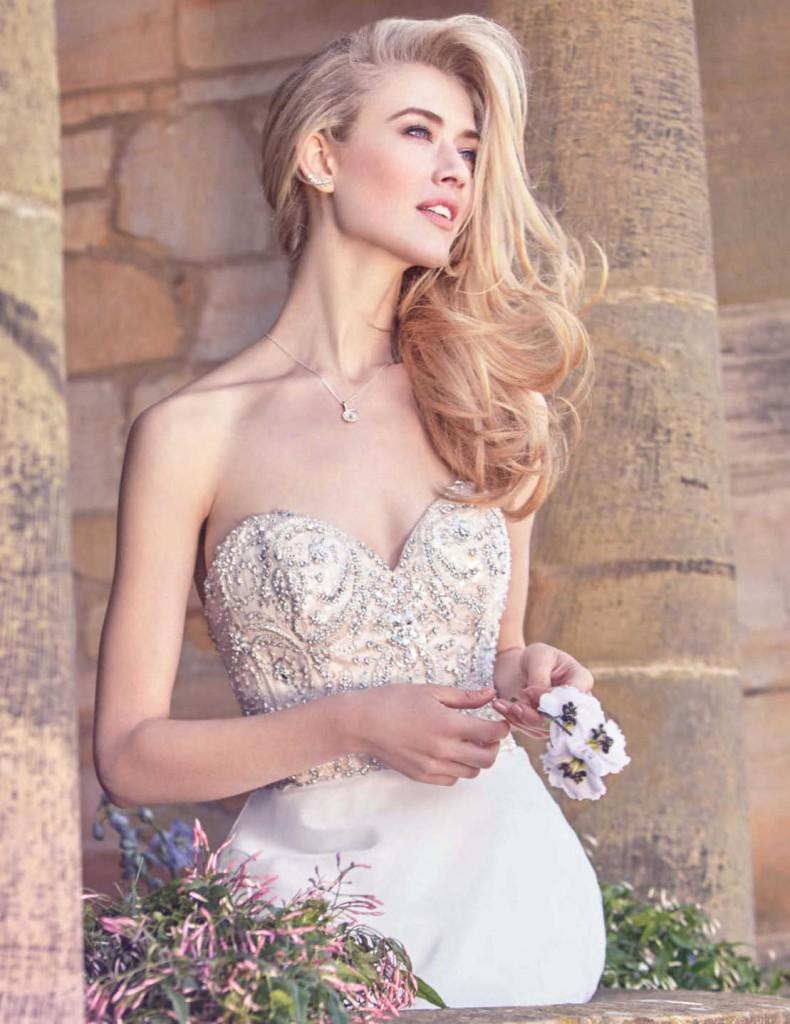 Robe mariage printemps-été 2016 - Ellis Collection robe 2