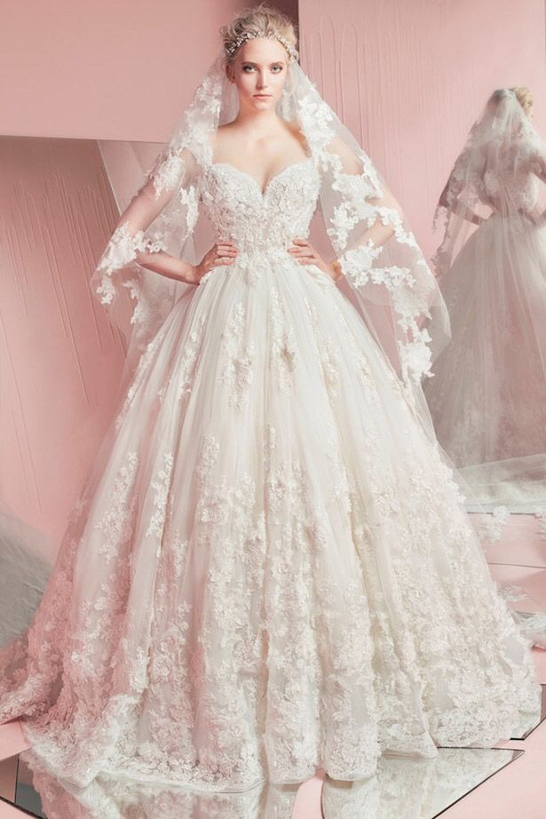 robe mariage printemps t 2016 wedding dresses collection by zuhair murad robe 3 - La Roub De Mariage