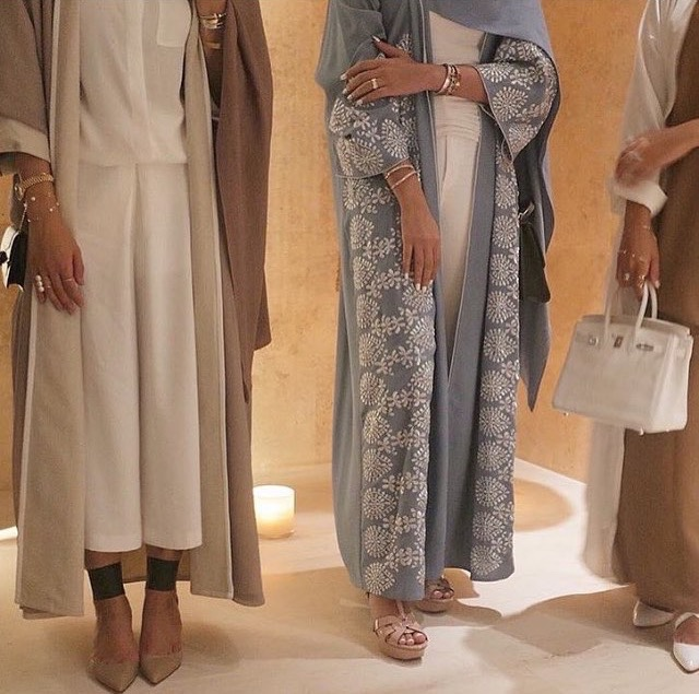 Abaya Fashion 2016-2017 look 7