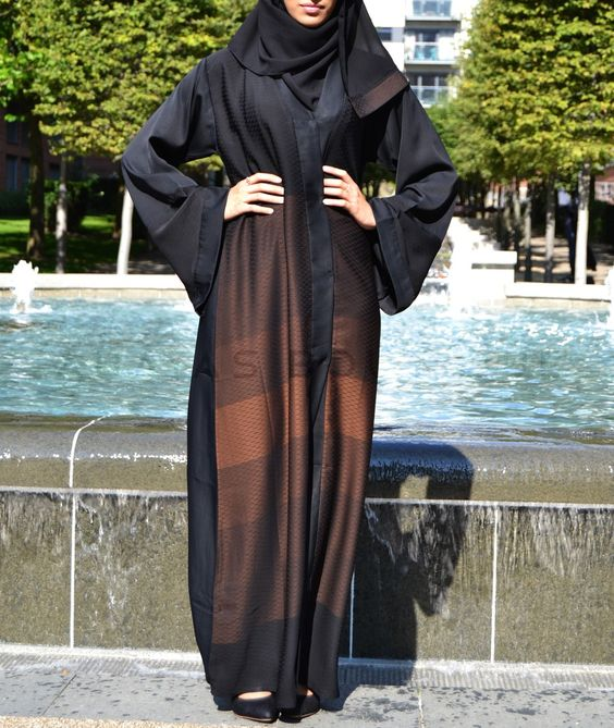 Abaya Fashion 2016- look 2