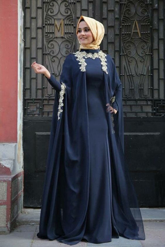 Abaya Fashion 2016- look 3