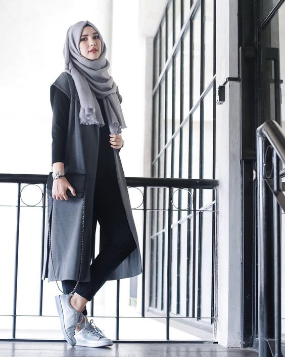 Hijab Fashion 2016- look 12