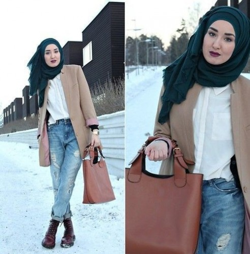 Hijab fashion 2016 s lection de looks tendances sp cial voil es octobre 2016 Fashion style and mode facebook