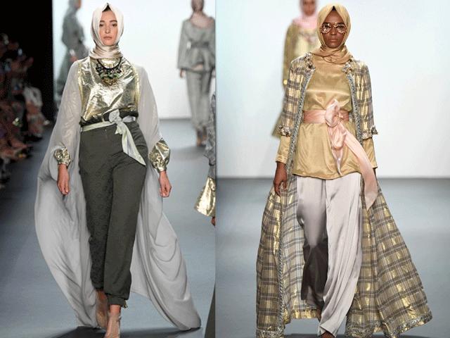 Hijab Fashion 2017 - look 17 et 18 - Anniesa Hasibuan styliste que certains connaissent pour sa collection Hijab haut de gamme.
