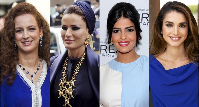 Les 5 princesses les plus influentes du monde arabe