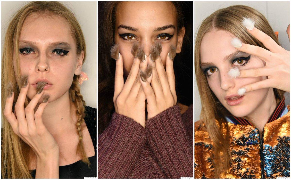 NOUVELLE TENDANCE 2016 : LES ONGLES À FOURRURE (Furry Nails)
