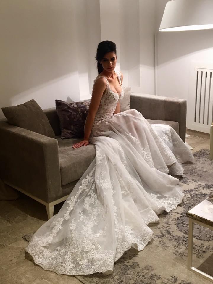 Robe sirène Béatrice - Olfa Turki