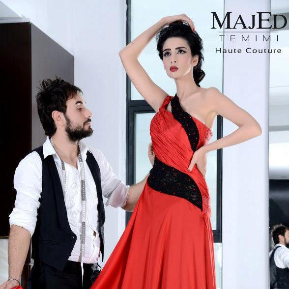 Robe de mariage en tunisie - Majed Temimi Couture