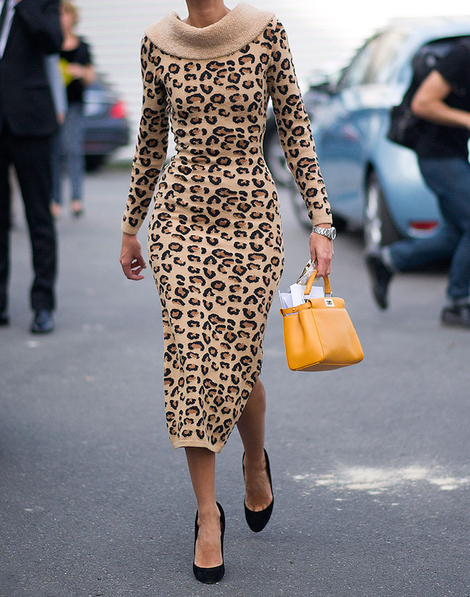 L'imprimé léopard, tendance mode printemps été 2016