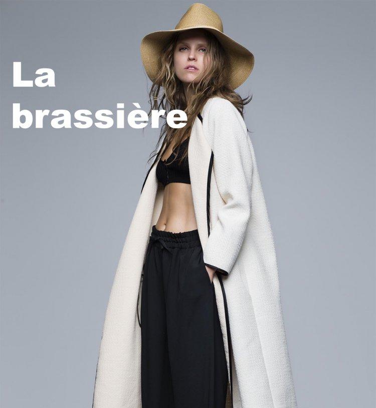 La brassière, tendance mode printemps été 2016