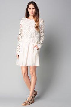 La robe blanche, tendance mode printemps été 2016