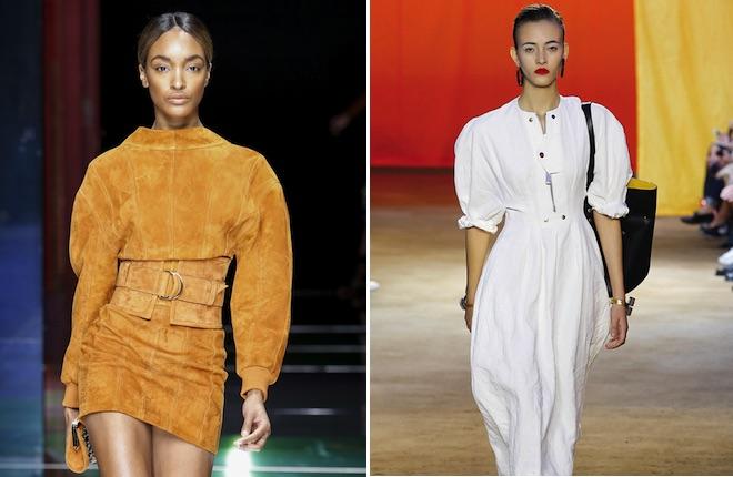 Les manches 80s, tendance mode printemps été 2016