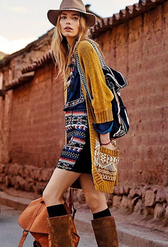 L'imprimé ethnique, tendance mode printemps été 2016