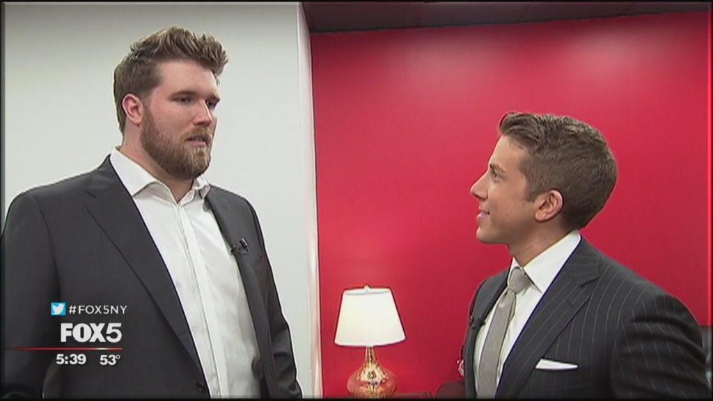 Zach Miko - le premier mannequin homme grande taille Interview fox5