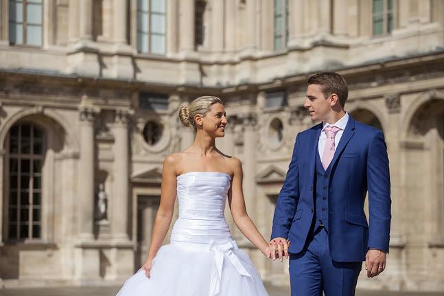 costume homme blue 2016 - Pour un mariage au château