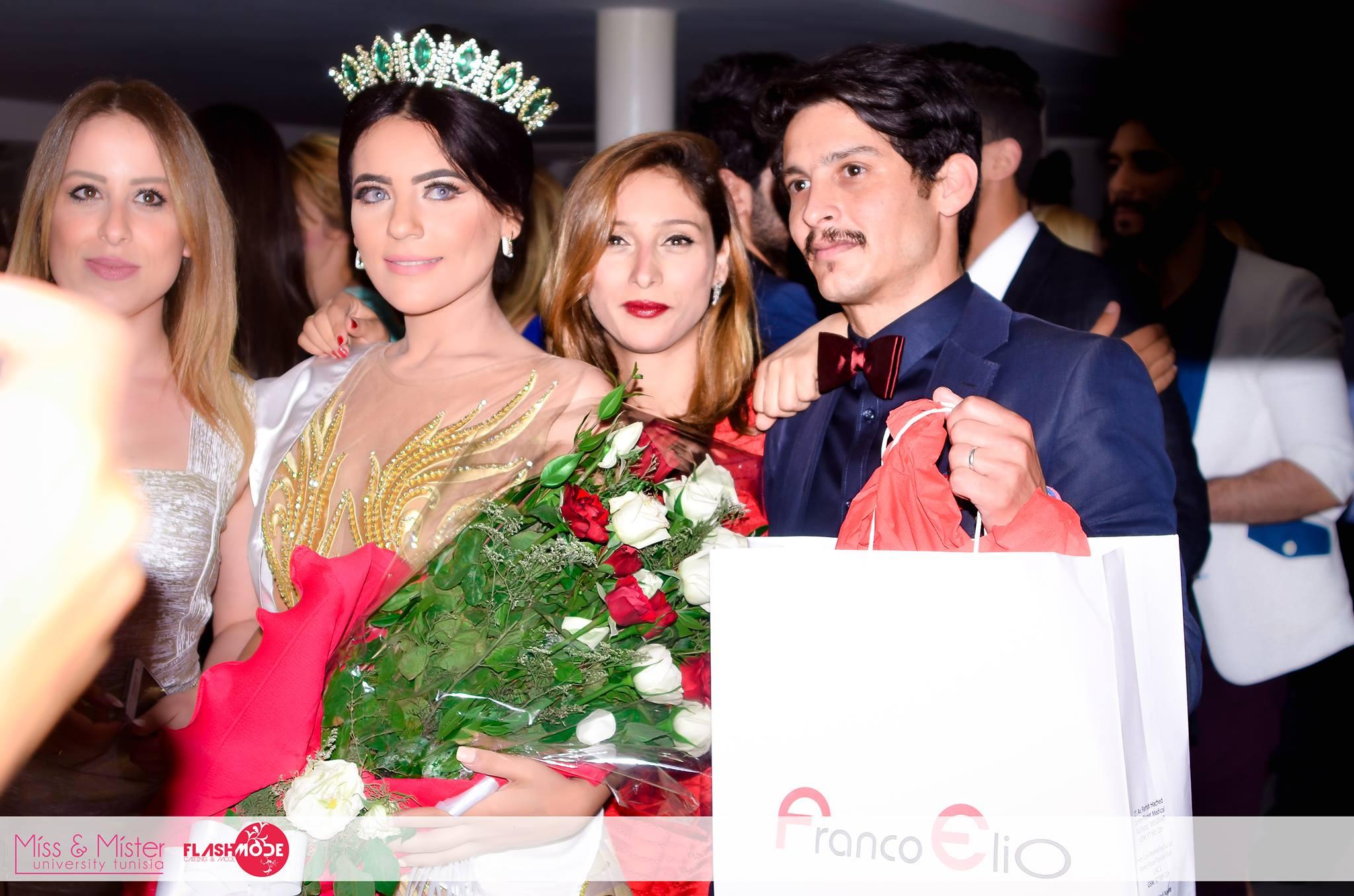 Ghada & Amine élus Miss & Mister University Tunisia 2016