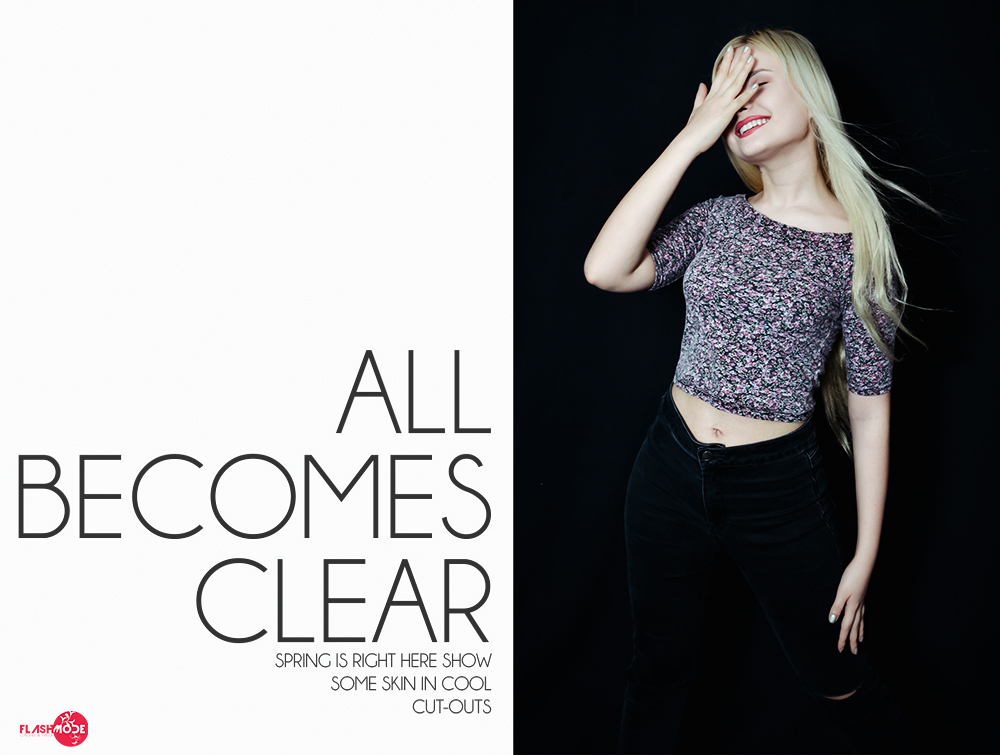 Fashion Editorial - ALL BECOMES CLEAR