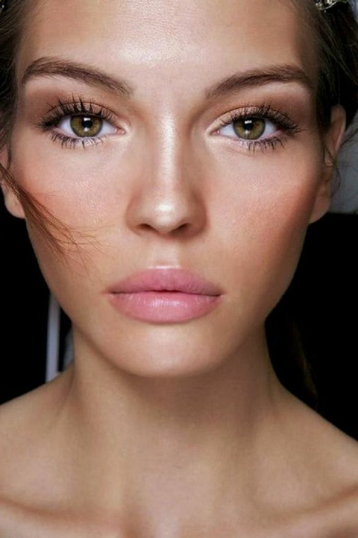 maquillage tuto yeux marrons