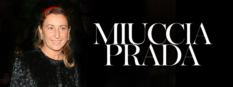 MIUCCIA PRADA top citations