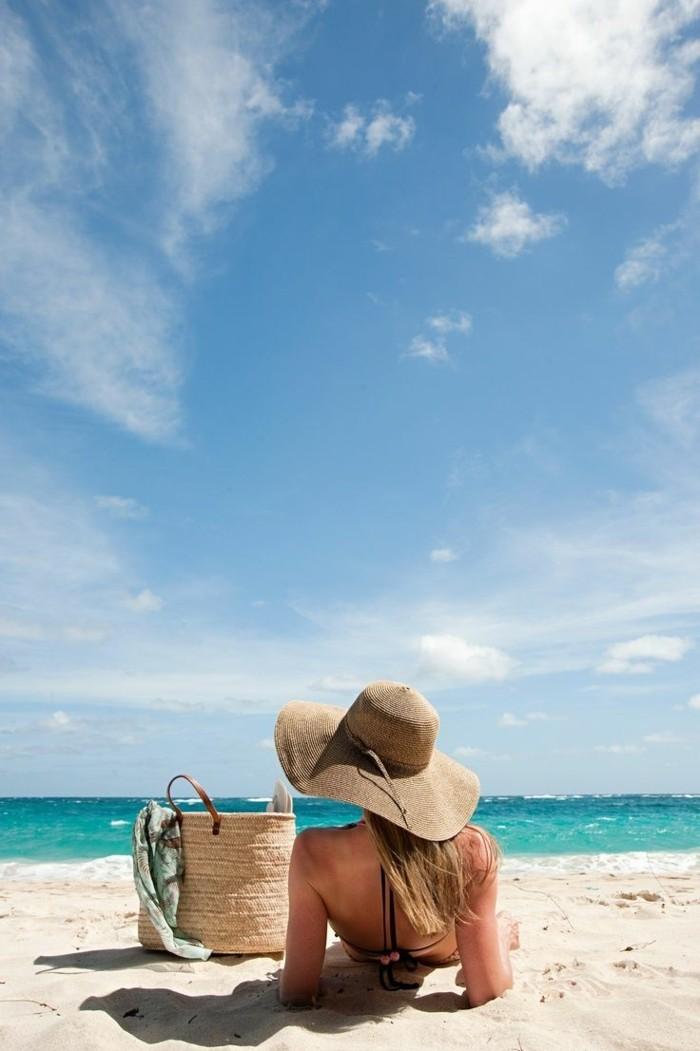 au-bord-de-la-mer-les-vacances-sac-cabas-plage-mer-beauté