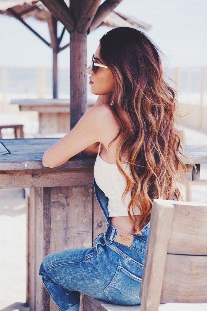 balayage-californien-sur-brune-tendance-2016-la-plage