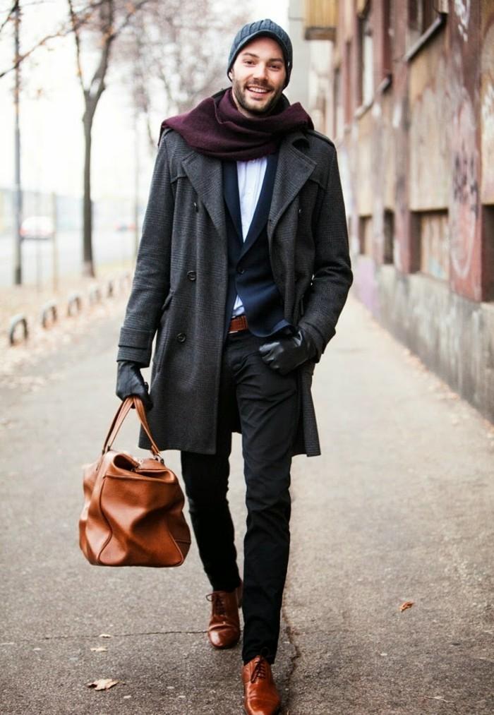 beau-sac-bandoulière-homme-mode-masculine-hiver
