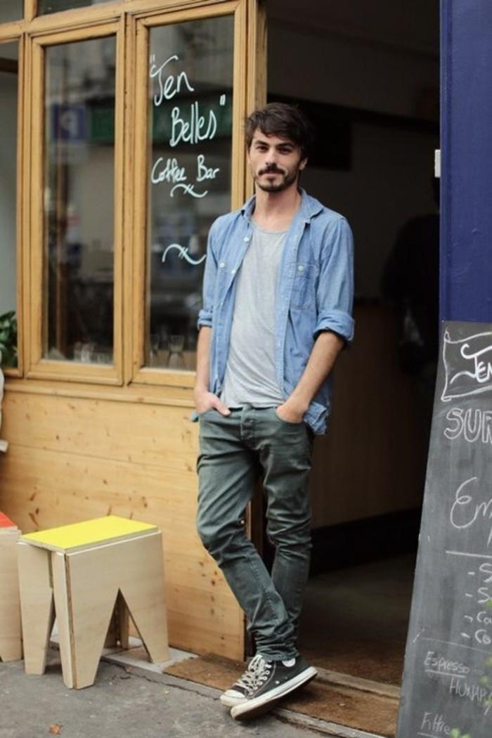 belle-idée-chemise-homme-manche-courte-homme