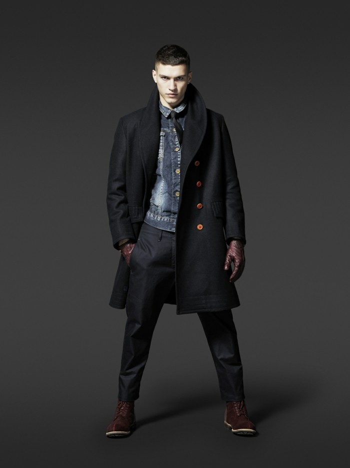 64 id es pour porter le manteau pour homme avec du style. Black Bedroom Furniture Sets. Home Design Ideas