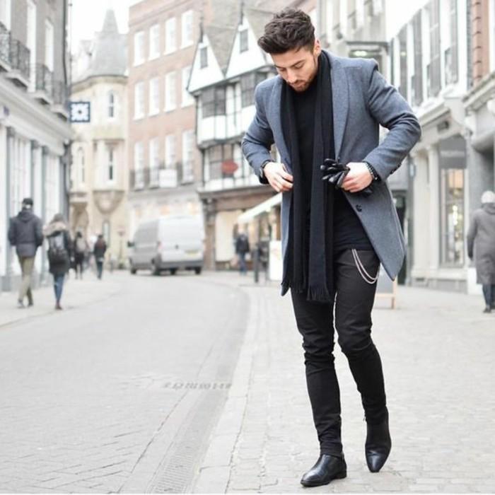 64 Idées pour porter le manteau pour homme avec du style! e780b37624ee