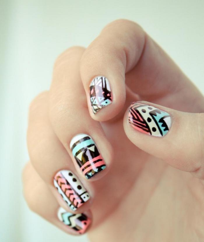 déco-ongles-nail-art-couleurs-tendance-beaux-dessins-sur-ongles