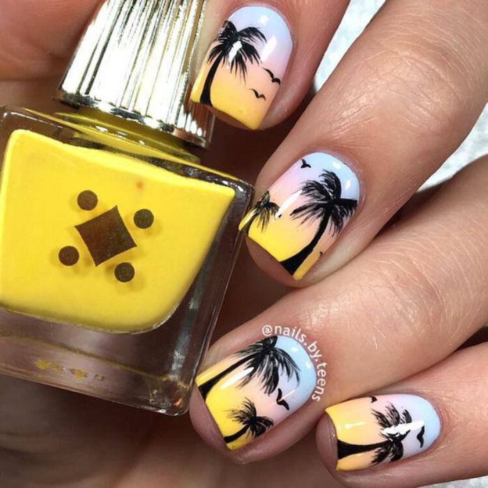 déco-ongles-palmiers-pour-l'été