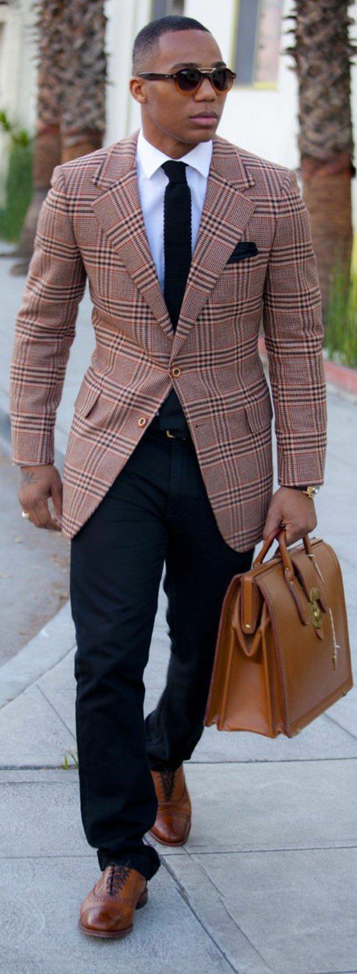 formidable-sac-homme-cuir-sacoche-longchamp-veste-carreau
