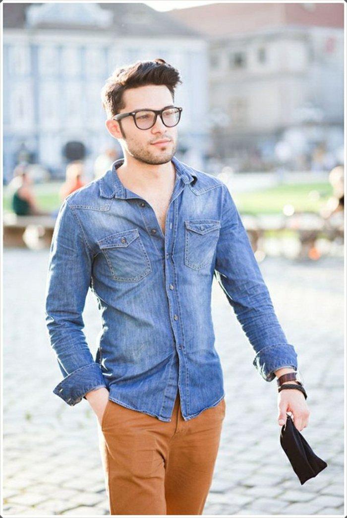 look-chemise-en-jean-homme-chemises-homme