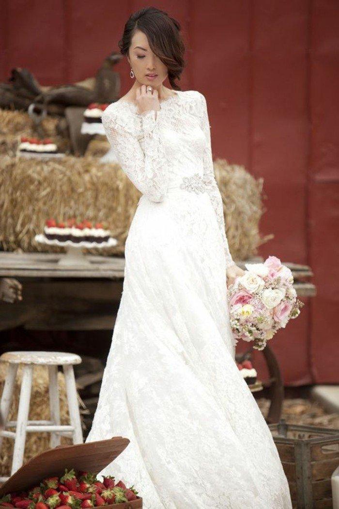 magnifique-robe-longue-en-dentelle-robe-longue-dentelle-blanche
