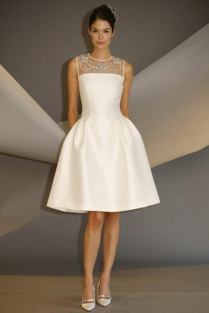 robe-de-mariée-civile-blanche-robe-courte-de-mariée-robe-mariage-civil-hiver