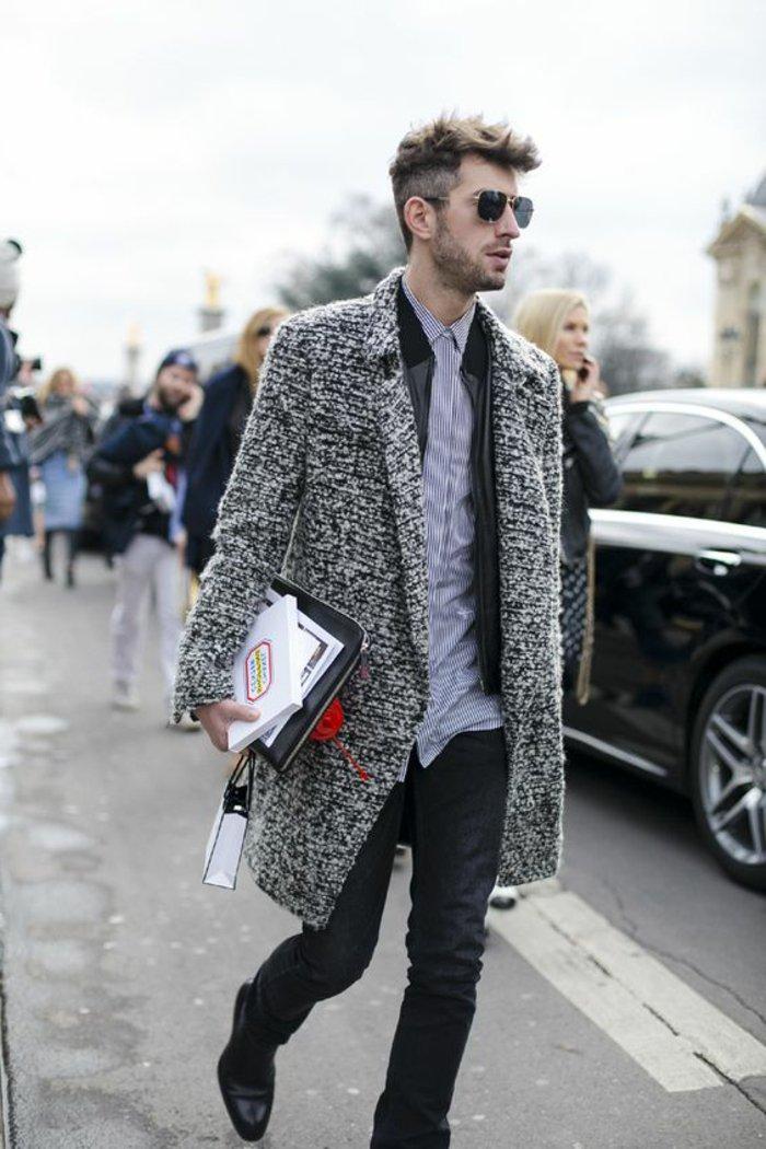067765c3f61a3 64 Idées pour porter le manteau pour homme avec du style!