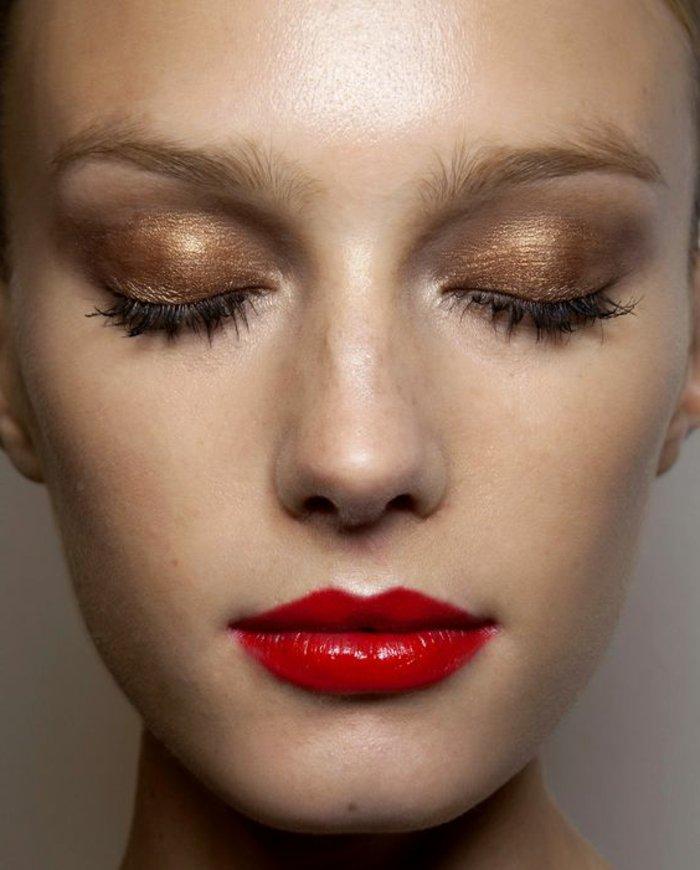 smokey-eyes-marron-tuto-smokey-eyes-maquillage-discret-pour-les-yeux